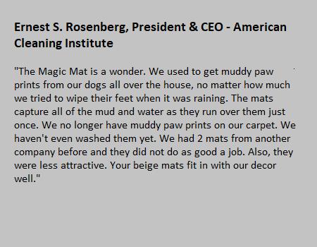 Rismat FloorGuard American Cleaning Institute