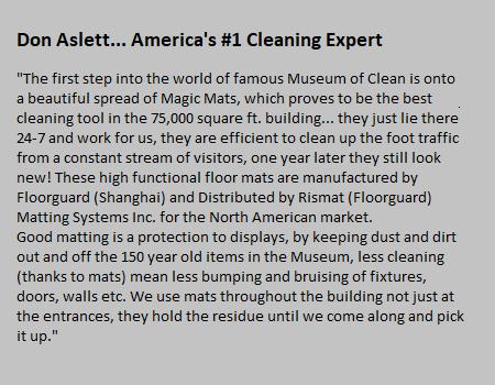 Rismat FloorGuard Cleaning Expert Testimonial