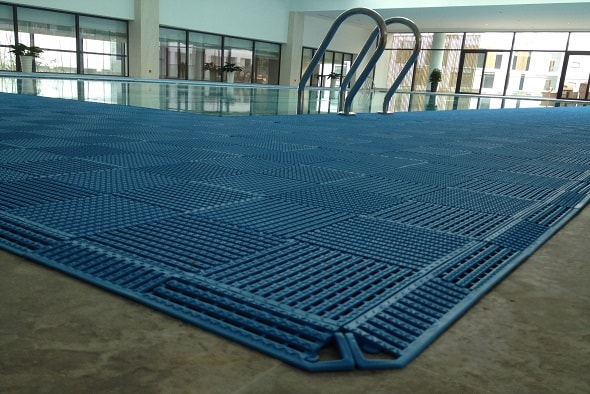Rismat FloorGuard Blue Swimming Pool Tile